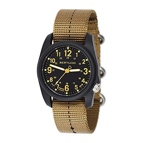 Bertucci DX3 Plus Watch   Black/Khaki 11041