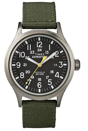 Timex Herren Analog Quarz Uhr mit Nylon Armband T49961
