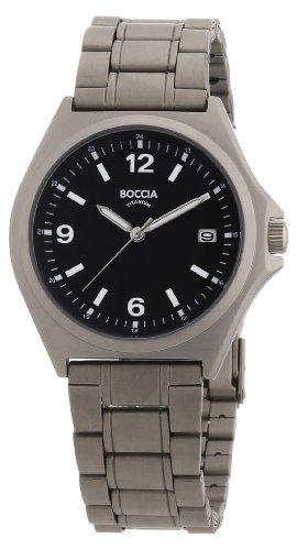 Boccia Herren-Armbanduhr Titan 3546-01
