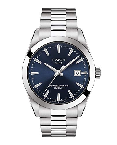 Tissot Herrenuhr Gentleman Powermatic 80 Silicium T127.407.11.041.00