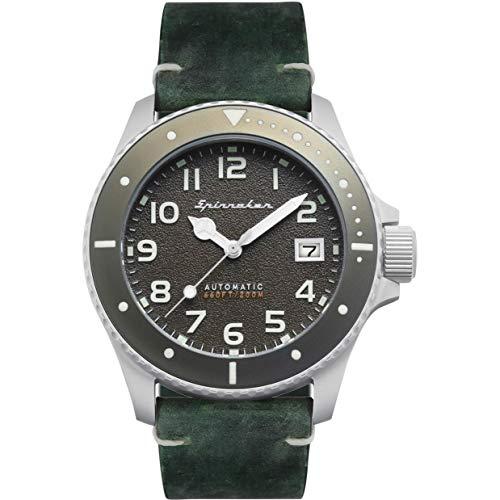 Spinnaker Vintage Spence Herren Uhr analog Quarzwerk mit Leder Armband SP-5066-03