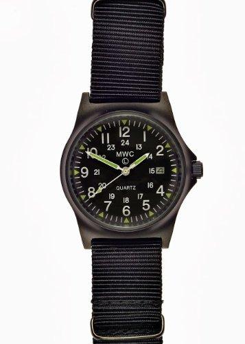 MWC G10LM PVD Militär Uhr 12/24Zifferblatt