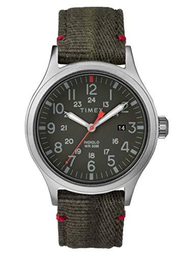 Timex Herren Analog Quarz Uhr mit Nylon Armband TW2R60900