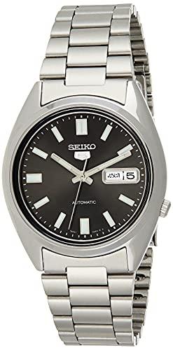 Seiko Unisex-Uhr Analog Automatisch mit Edelstahlarmband – SNXS79K