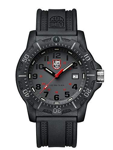 Luminox Herren Datum klassisch Quarz Uhr mit PU Armband XL.8882