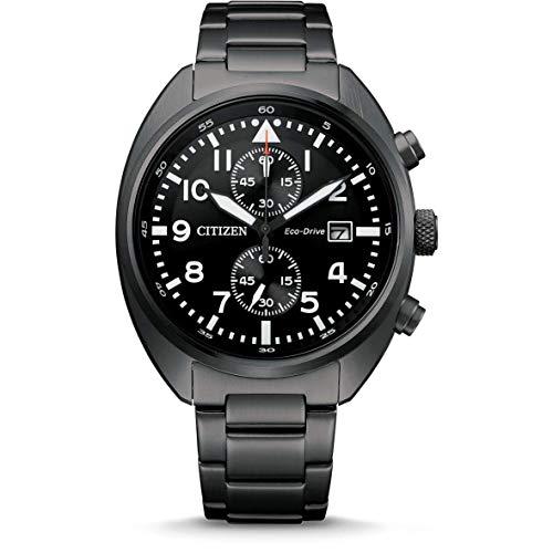 Citizen Herren-Armbanduhr Eco-Drive Chronograph CA7047-86E