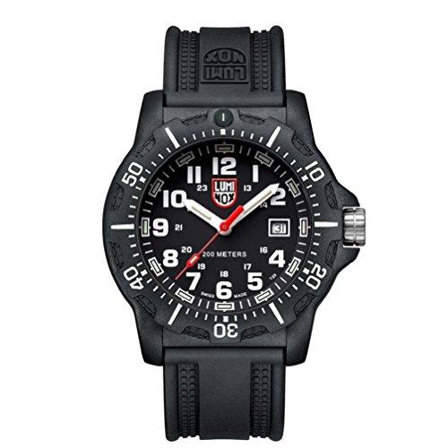 Luminox Herren Datum klassisch Quarz Uhr mit PU Armband XL.8881