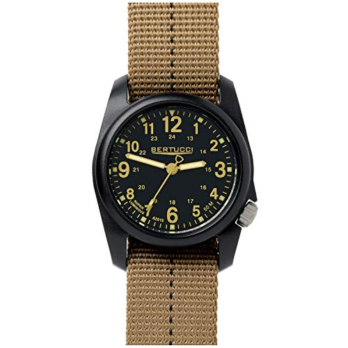 Bertucci DX3 Plus Watch | Black/Khaki 11041