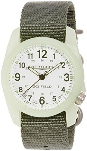 Bertucci 11028 Armbanduhr, Nylonband, Grün