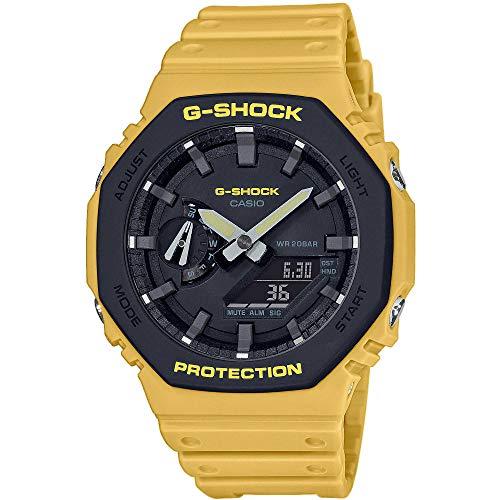 Casio G-Shock Classic Ana-Digi Herrenuhr Gelb GA-2110SU-9AER