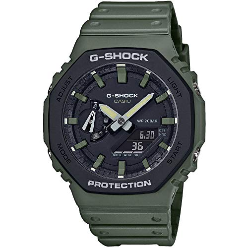 Casio G-Shock Classic Ana-Digi Herrenuhr Olivgrün GA-2110SU-3AER