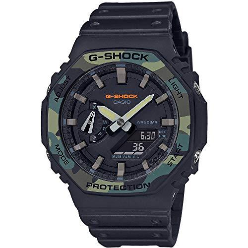 Casio G-Shock Ana-Digi Herrenuhr Camouflage GA-2100SU-1AER