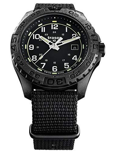 traser H3 Herren-Armbanduhr P96 OdP Evolution Schwarz 108673