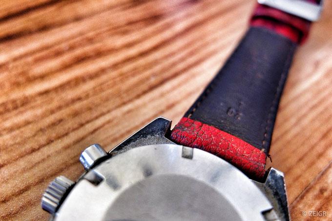 Uhr reinigen: Omega Speedmaster Mark II