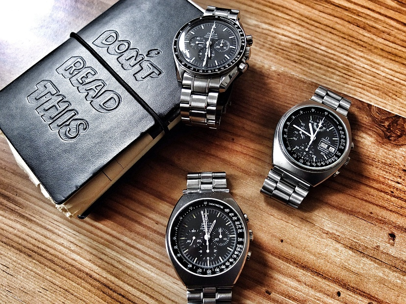 Omega Speedmaster Moonwatch & Mark-Serie