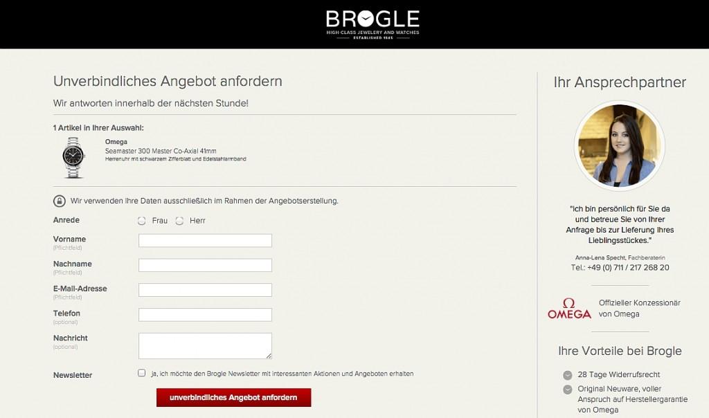 Brogle - Angebot
