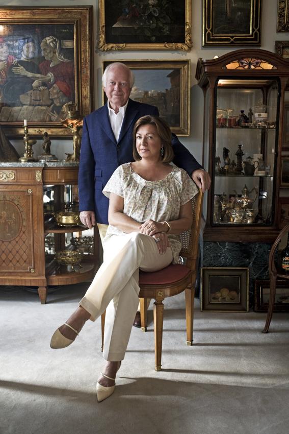 Baronin und Baron Freiherr von Seld - empfingen mich freundlich bei sich Foto: Christian Fuchs/Lima