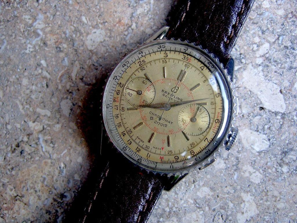 Vintage Breitling Chronomat 40er Jahre