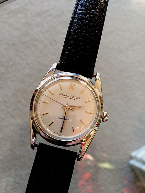 Vintage International Uhr Replik Company IWC 50er Jahre