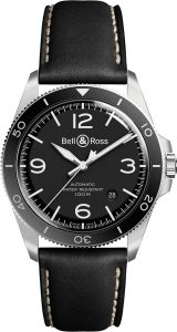 Bell & Ross Vintage BR V2-92 BLACK STEEL