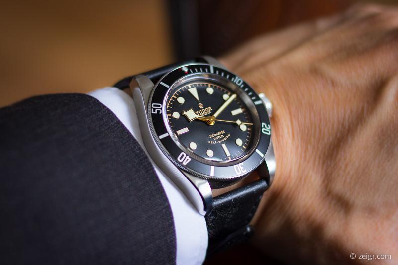 Uhren bis 5000 Euro - Tudor Black Bay Black
