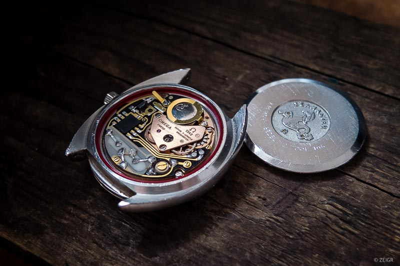 Omega Seamaster Quarz Vintage Uhr Werk