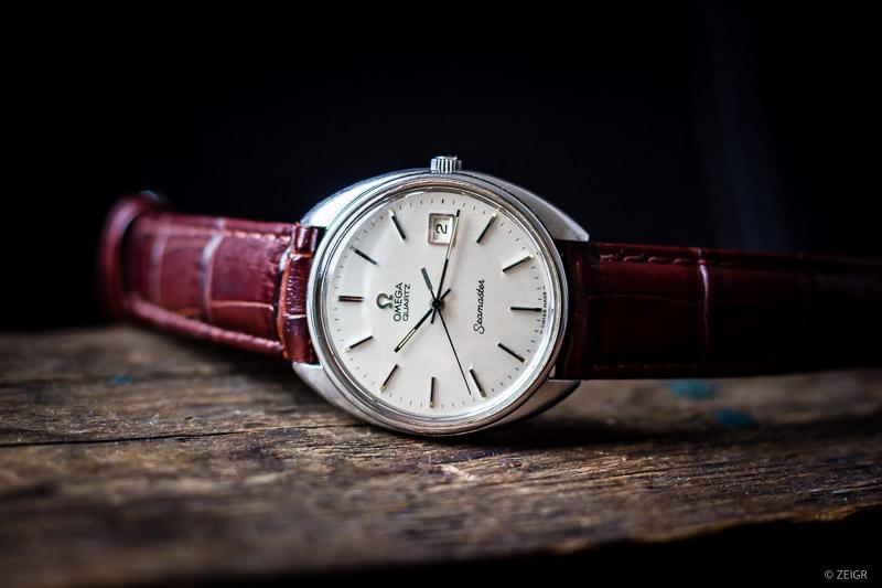 Omega Seamaster Quartz Vintage Uhr