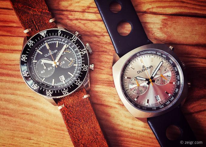Dugena Dakota & Kemora - Uhren unter 200 Euro