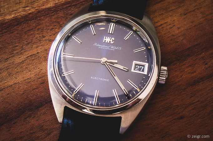 IWC Electronic Stimmgabeluhr Tuning Fork (Copyright: zeigr.com)