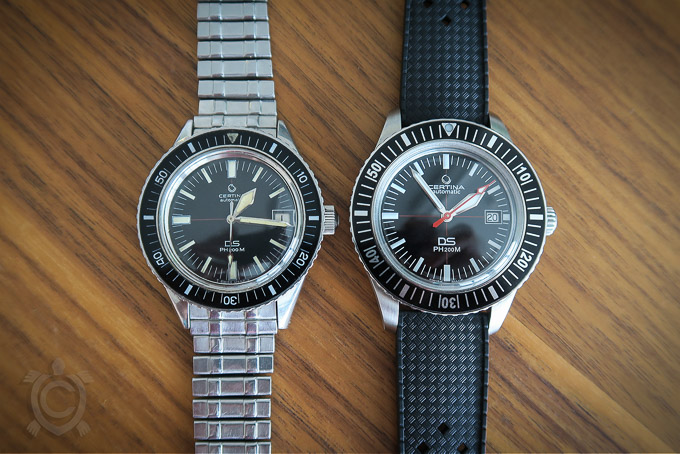 Certina DS PH200M - Vintage vs. Neuauflage/Reissue