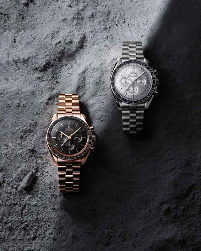 OMEGA Moonwatch 2021 - Co-Axial Master Chronometer Gold und Weißgold