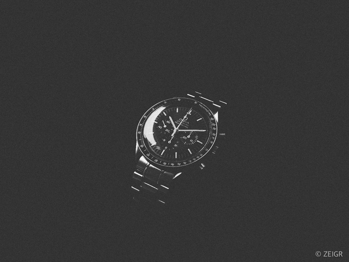 Omega Speedmaster Moonwatch - Vintage Black