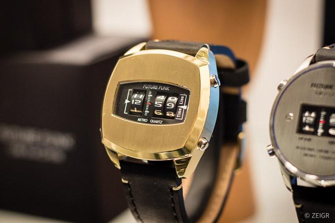 Future Funk gold - Neue Nerd-Uhr - Baselworld 2019