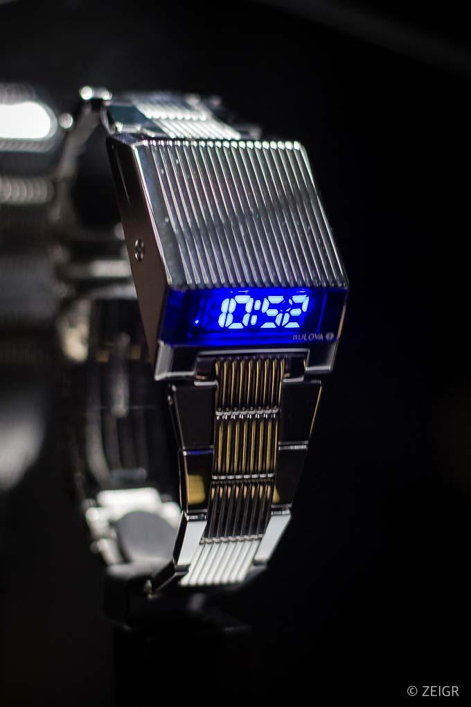 Neue Uhren 2019 für Nerds - Computron LED - Baselworld