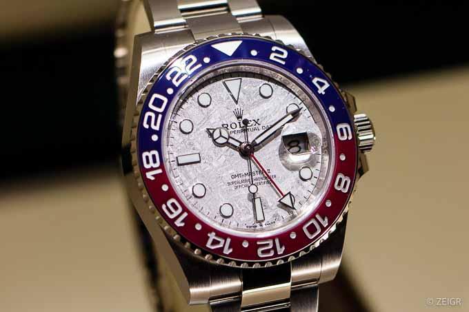 Rolex GMT-Master II 126719 BLRO meteorite dial Baselworld 2019