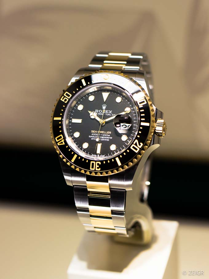 Rolex Sea-Dweller Yellow Rolesor Ref. 126603 - Baselworld 2019