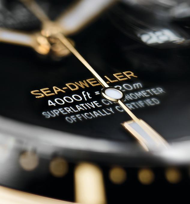 Rolex Sea Dweller Yellow Rolesor Ref. 126603 - Baselworld 2019