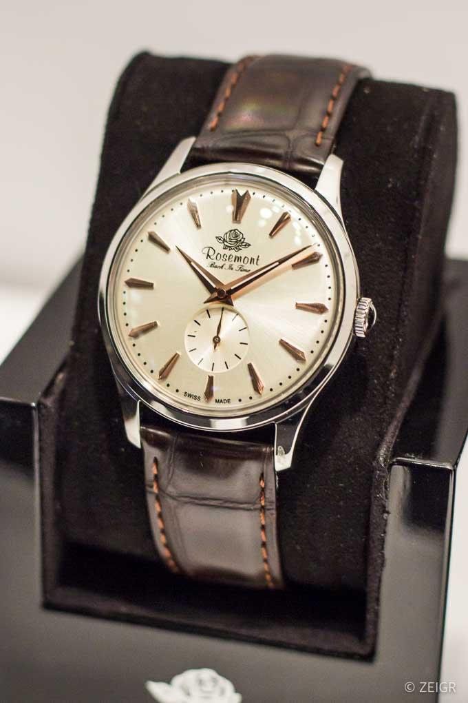 Rosemont silber - Neue Uhren - Baselworld 2019