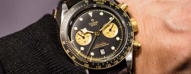 Tudor Black Bay Chrono S&G 79363N - Baselworld 2019 Titel-1