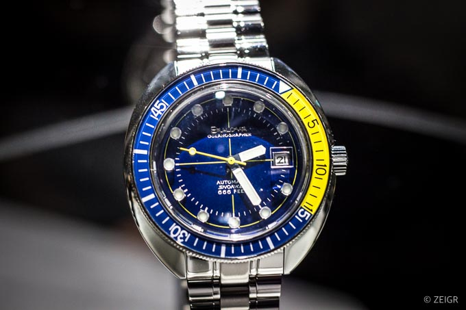 Neue Uhren 2019 - Bulova Oceanographer Snorkel - Baselworld