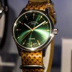 Uhren-Neuheiten 2019 - Mühle Glashütte Panova Grün - Baselworld