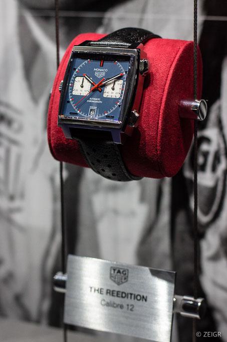 Uhren-Neuheiten 2019 - Vintage Heuer Monaco Baselworld