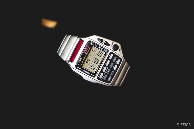 Geeky Nerd-Uhr - Casio CMD-40 Fernbedienung