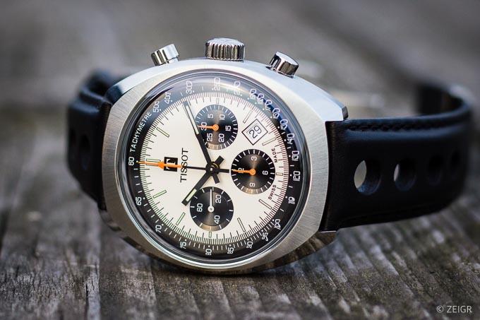 Tissot Heritage 1973 Chronograph - Panda-Dial