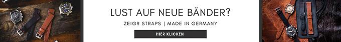 Neues Lederband ZEIGR Straps Uhrenarmband online kaufen