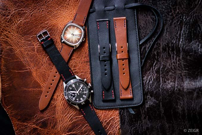 Uhrenarmband 20mm Leder Vintage ZEIGR Uhren-Blog