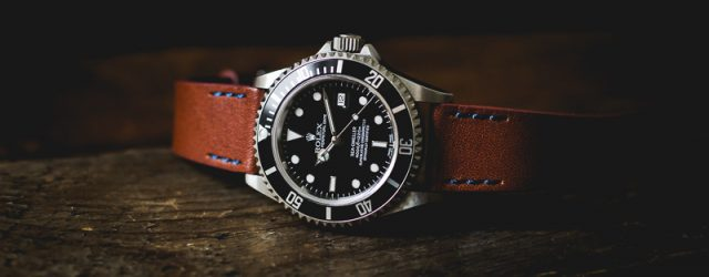 Uhrenarmband Leder Rolex Sea-Dweller
