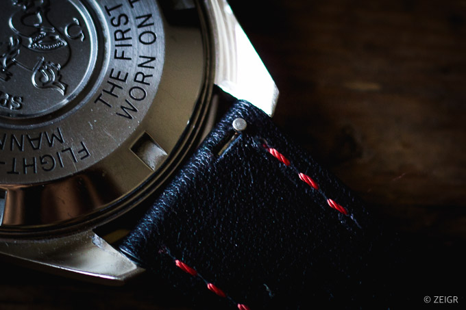 ZEIGR Uhrenarmbänder 20mm Leder Vintage Schnellwechsel-1
