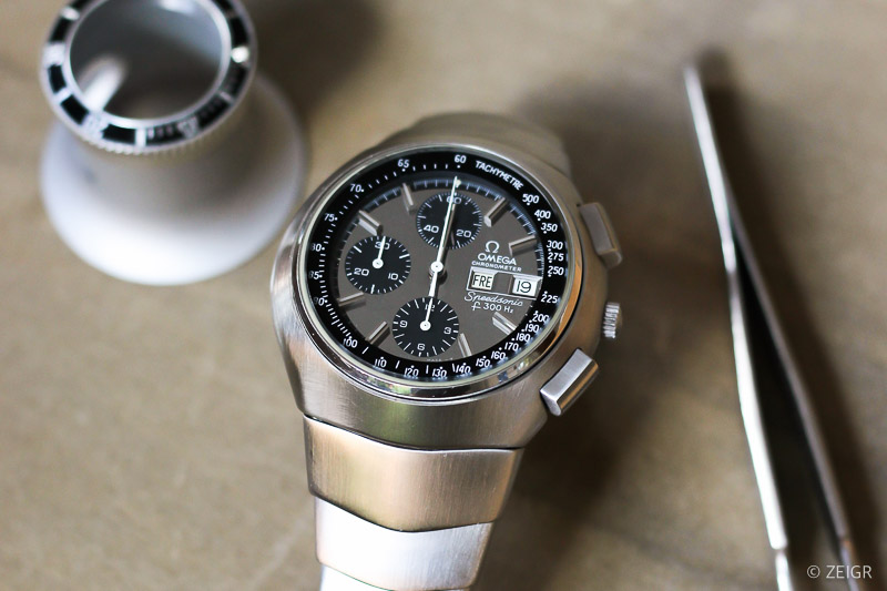 Omega Speedmaster Speedsonic Lobster -1