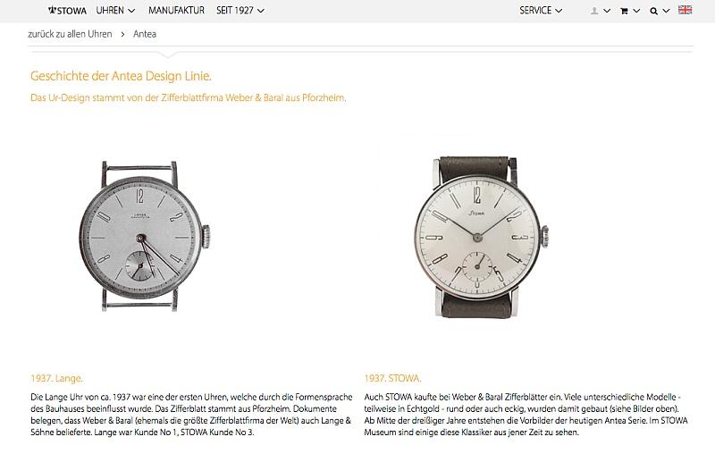 Bauhaus Design 1937 Lange + Stowa
